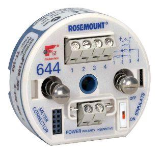 ترانسمیتر دما رزمونت مدل 644